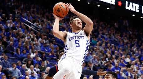 Kentucky's Kevin Knox against Ole Miss on Feb.
