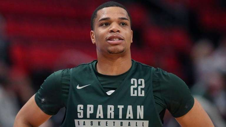Michigan State guard Miles Bridges on March 15,