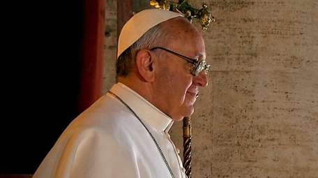 "Pope Francis, in Wim Wenders' documentary""Pope Francis: A"