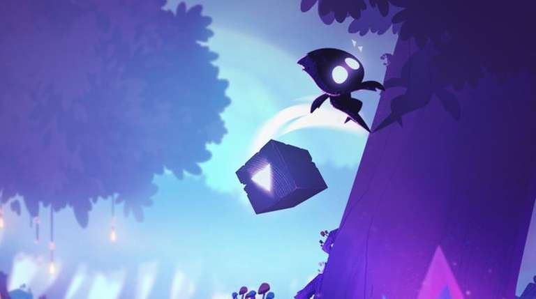 In the platform game Light Fall, players can