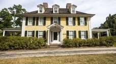The historic Sylvester Manor on Shelter Island.