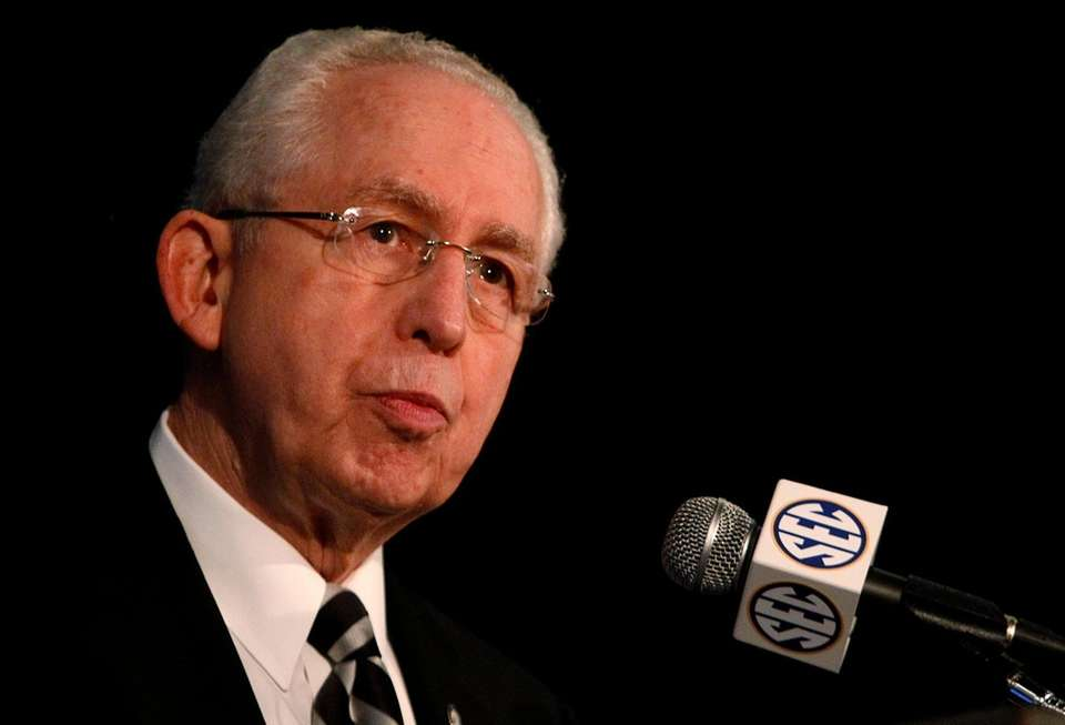 Mike Slive, the former Southeastern Conference commissioner who