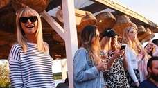 Christie Brinkley and daughter Alexa Ray Joel party