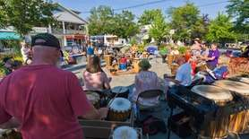 The town of Woodstock is a hippie magnet