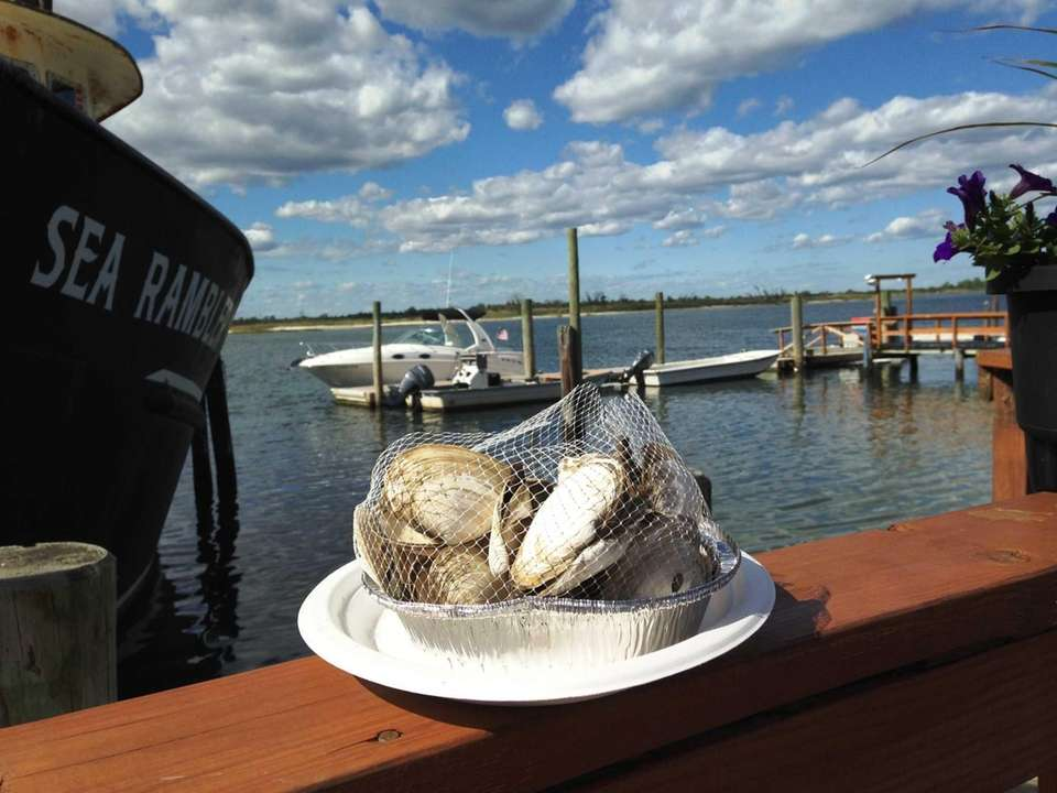 At Point Lookout Clam Bar, you can enjoy