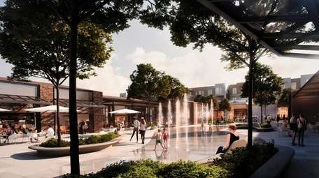 The developer of the 93-acre Syosset Park project
