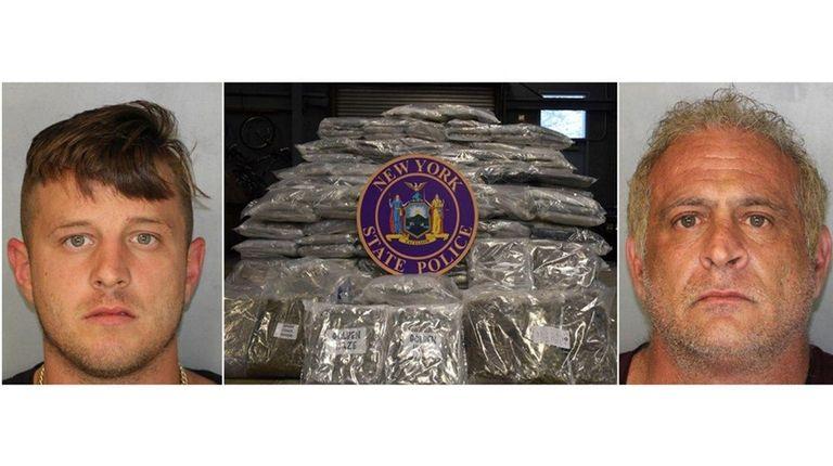 Police said $2 million worth of marijuana was