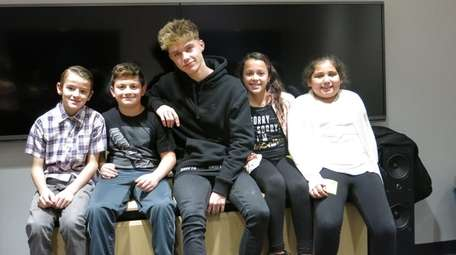 British music artist HRVY with Kidsday reporters Zachary