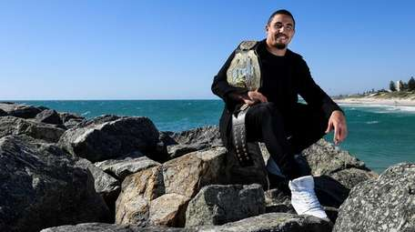 Robert Whittaker at Cottesloe Beach on October 31,
