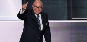 Former New York City Mayor Rudy Giuliani was