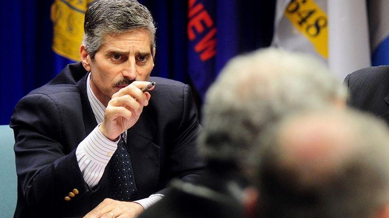 Suffolk County Executive Steve Levy (April 12, 2010)