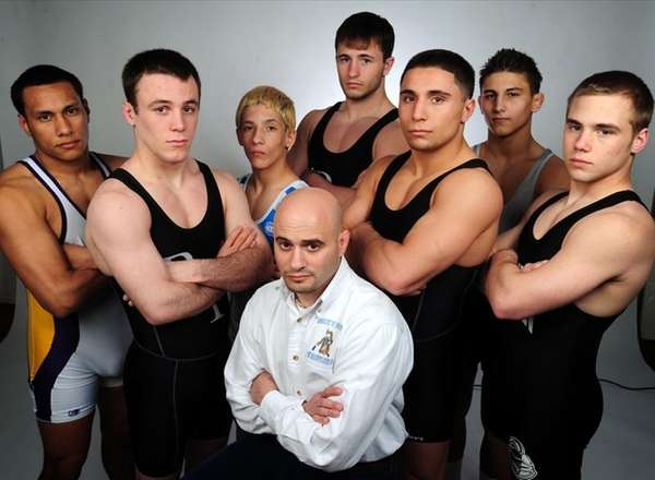 The 2010 All-Long Island Wrestling team.