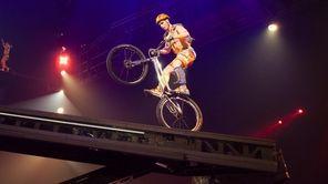 "Part of Cirque du Soleil's ""Volta"" action turns"