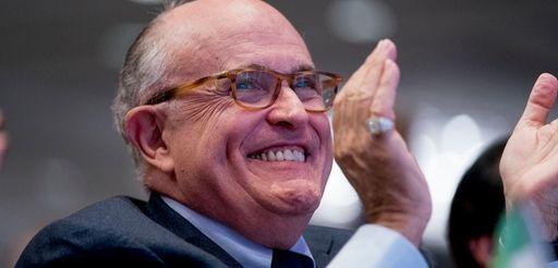 Rudy Giuliani, seen in Washington on May 5,