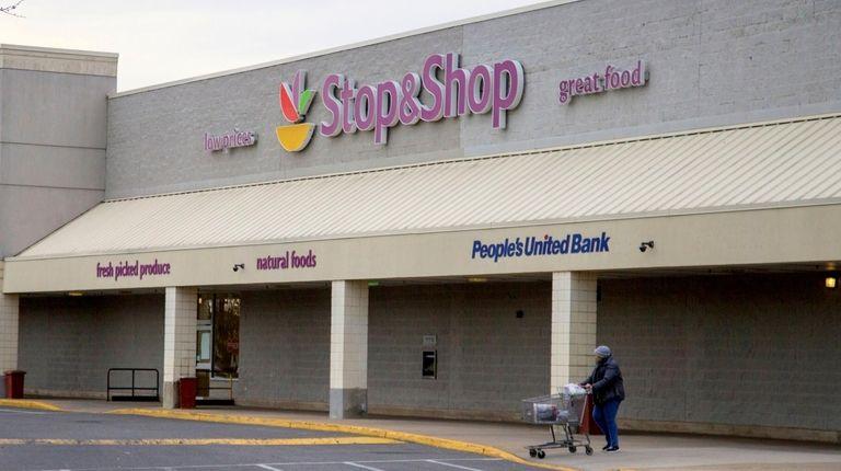 Stop & Shop in Hempstead on March 20.