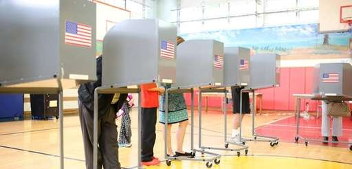 Voters cast ballots last week on the North