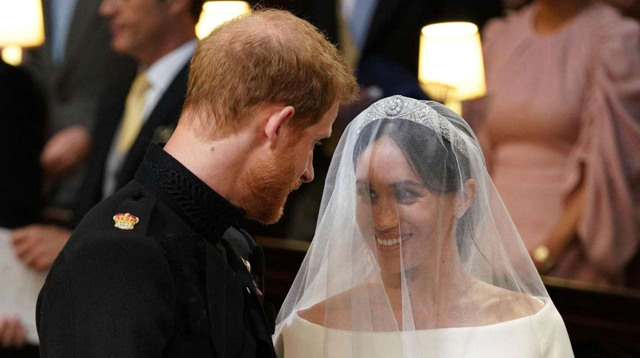 Royal wedding: Prince Harry tells Meghan Markle, 'You look amazing' at altar