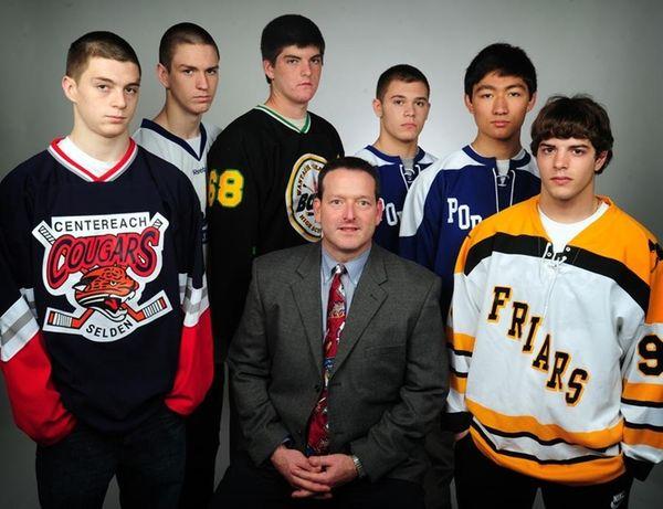 The 2010 All-Long Island hockey team.