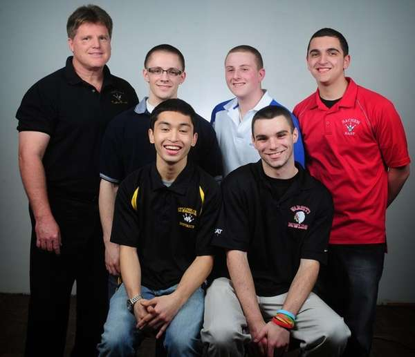 The 2010 All-Long Island boys bowling team. SECOND