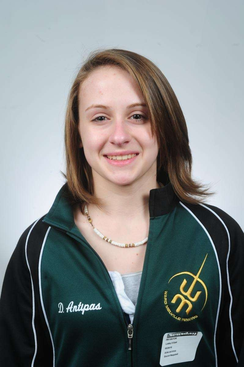 DEMI ANTIPAS Fencer of the Year Ward Melville