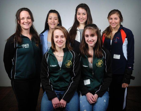 The 2010 All-Long Island High School girls fencing