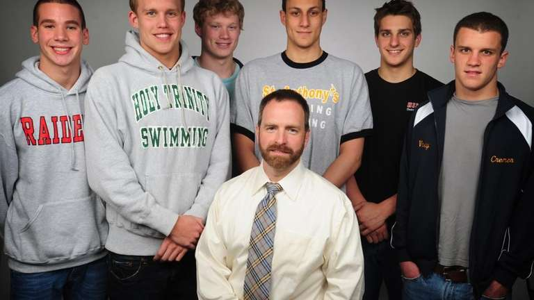 The 2010 All Long Island boys swim team.