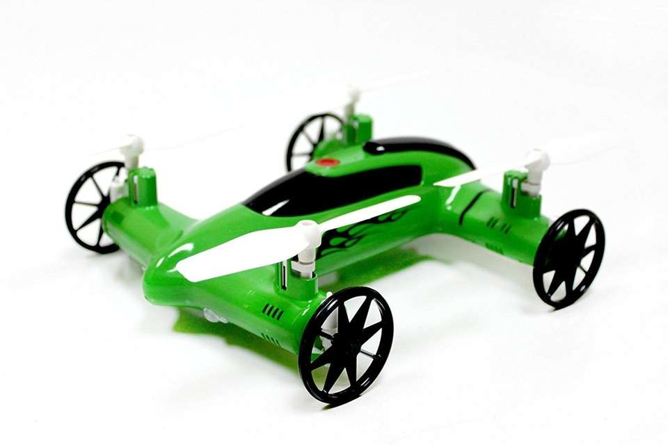 Take to the air with this remote-controlled car
