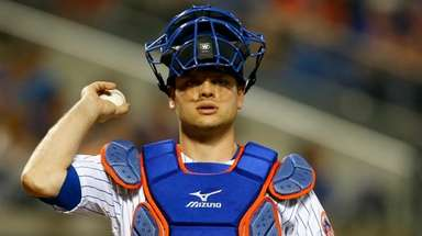 Devin Mesoraco of the New York Mets at