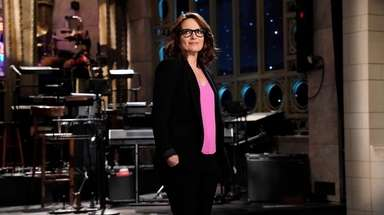 "Tina Fey hosts the season finale of ""Saturday"