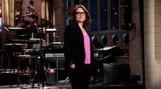 "Tina Fey hosts the season finale of ""Saturday"