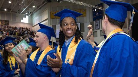 Hofstra University celebrates the Class of 2018 Undergraduate