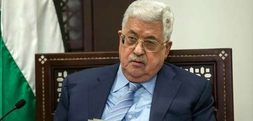 Palestinian President Mahmoud Abbas is seen Jan. 31.