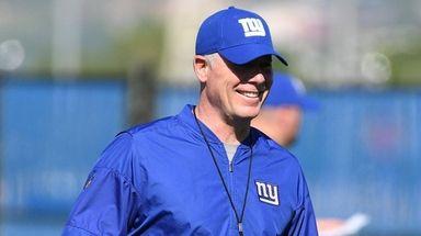 New York Giants head coach Pat Shurmur, seen
