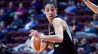 The New York Liberty's Kia Nurse during a