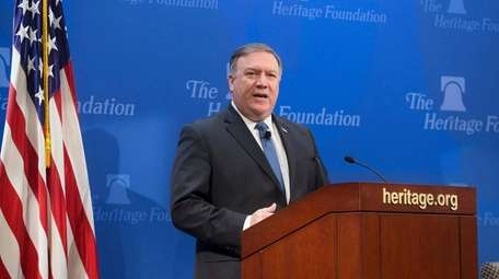 Secretary of State Mike Pompeo delivers remarks on