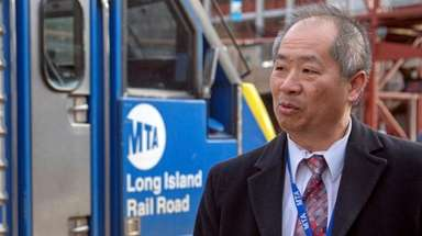 LIRR president Phillip Eng, seen here on April