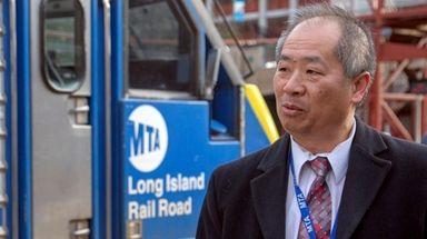 LIRR president Phillip Eng, seen here on April