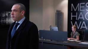 "Rick Hoffman in a scene from USA's ""Suits."""