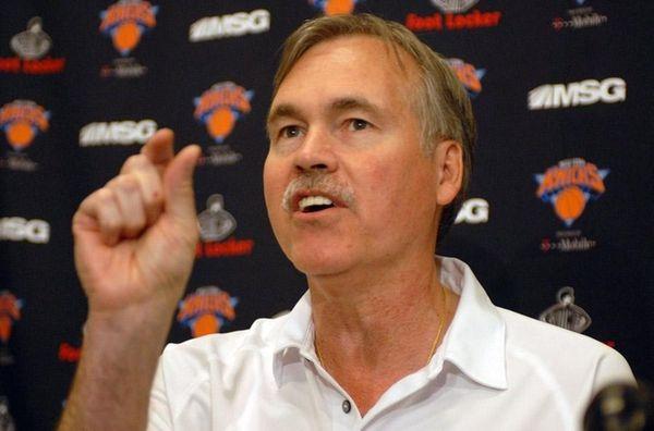 Knicks head coach Mike D'Antoni talks about the