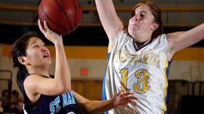 Senior center Emma O'Connor, Newsday's All-Long Nassau Player