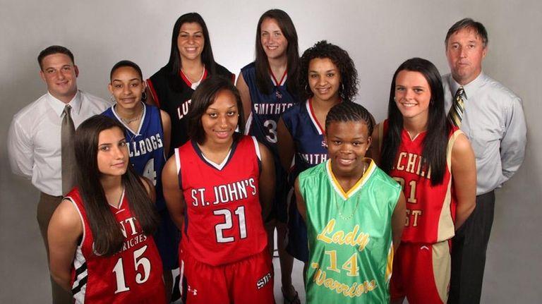 The 2010 All-Long Island high school girls basketball