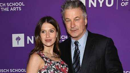 Hilaria Baldwin and Alec Baldwin attend The New