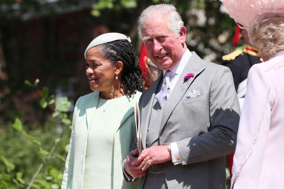 Meghan Markle's mother, Doria Ragland, and Prince Charles