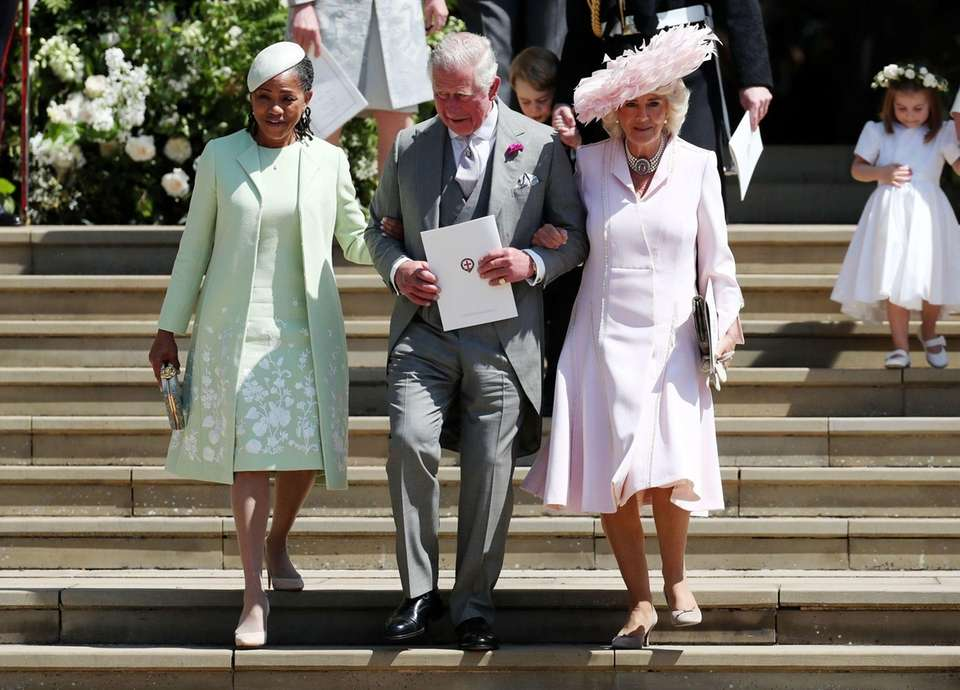 Meghan Markle's mother, Doria Ragland, Prince Charles and