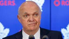 Former Toronto Maple Leafs general manager Lou Lamoriello