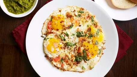 Among dozens of egg dishes at Raju's Egg
