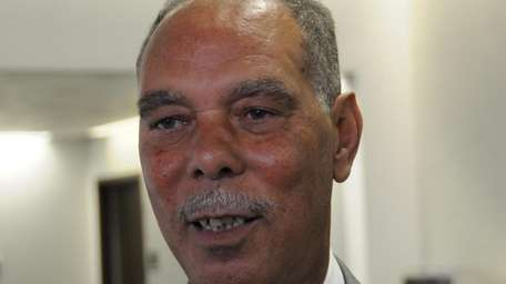 Elie Mystal, former Suffolk County presiding officer, who