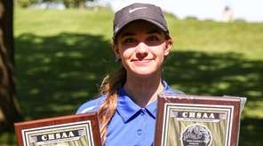 Ashley Harding of Kellenberg takes top honors at