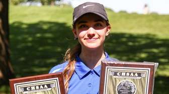 Ashley Harding of Kellenberg takes top honors at