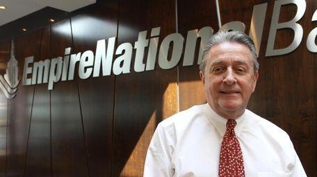 Douglas Manditch, chief executive of Empire National Bank